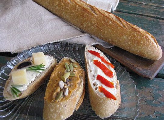 Breadworks Rustic Baguette Bread