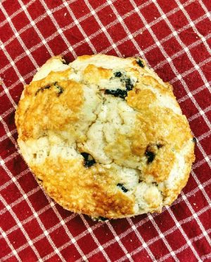 WHite Chocolate Cherry Scone