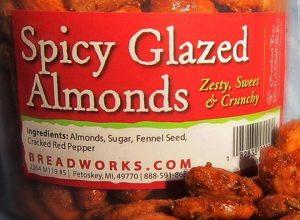 Breadworks Spicy Glazed Almonds