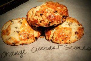 Orange Currant Scone