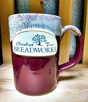 Breadworks Red Coffee Mug