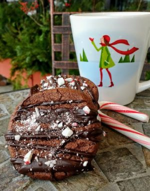 Peppermint Mocha Shortbread