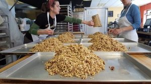 making granola