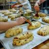 Bakers Making Winter Stollen