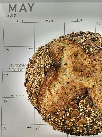 Roasted Seed Calendar