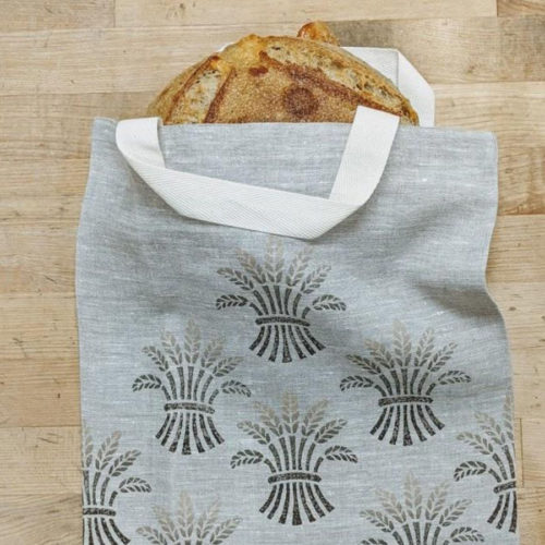Brown Wheat Linen Bag
