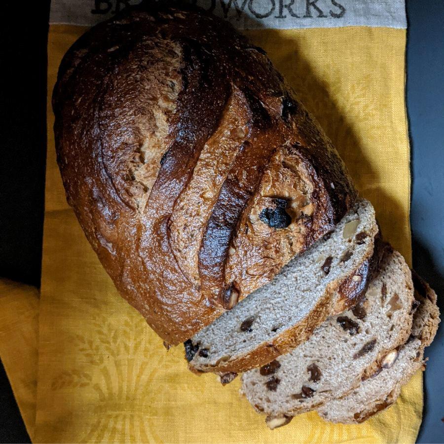 Breakfast Bread Sliced