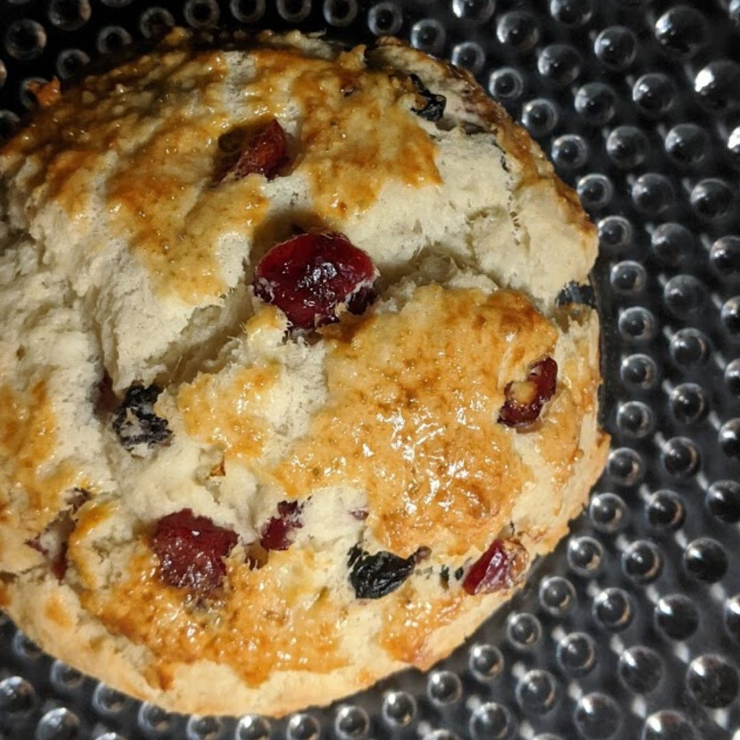 Mixed Berry Scone whole
