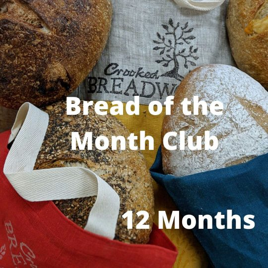 Bread of the Month Club 12 months option