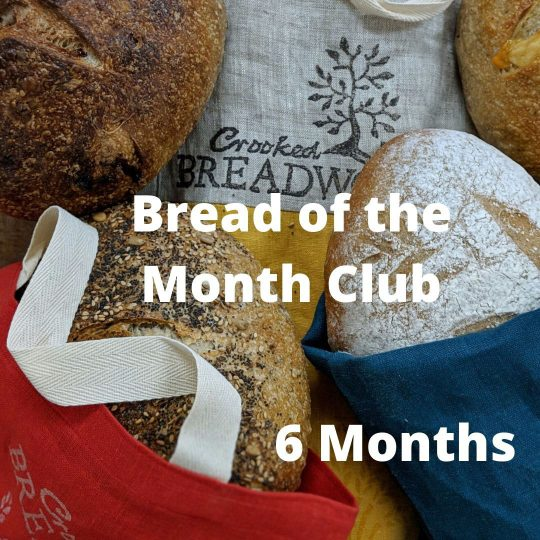 Bread of the Month Club 6 months option